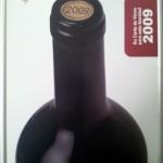 Carta de vinos 2009