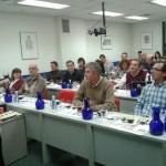Bodegas Montalvo Wilmot 21/11/13 Nieves Lucendo y Alejandro Montalvo